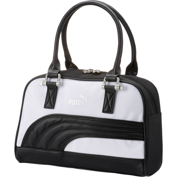 Women's Grip Bag, BLACK/WHITE, large