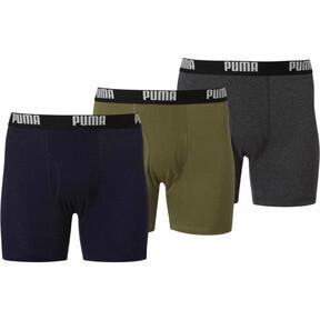 Men's Cotton Boxer Briefs [3 Pack]
