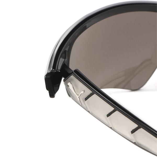 メンズ PU0056S サングラス, BLACK-BLACK-SILVER, large-JPN