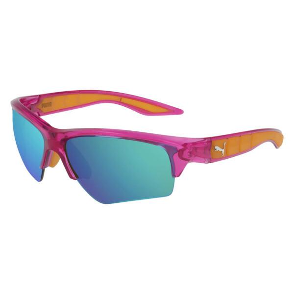 Gafas de sol Wake con diseño deportivo, FUCSIA-FUCSIA CLARO-AZUL, grande