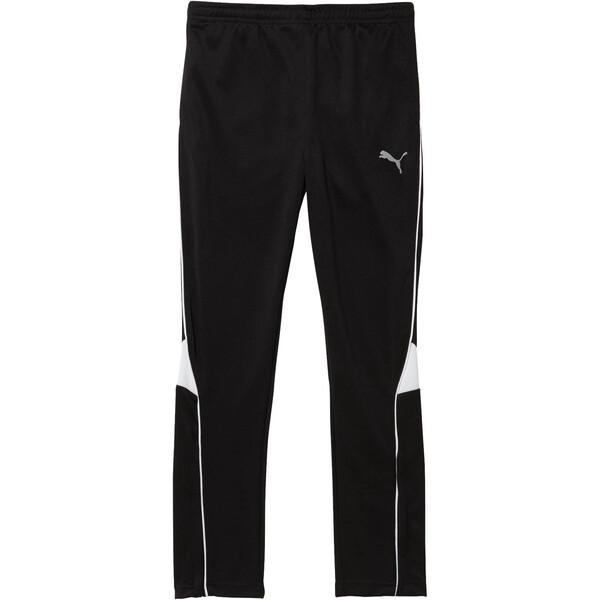 Boys' Soccer Pants JR, puma black, large