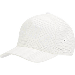 Thumbnail 1 of INFINITE FLEXFIT HAT, WHITE, medium