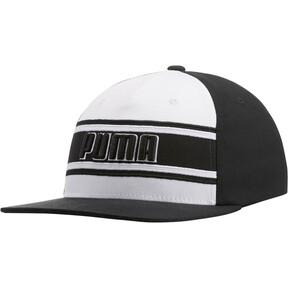 Thumbnail 1 of STAGE DIVE FLATBILL FLEXFIT Hat, BLACK/WHITE, medium