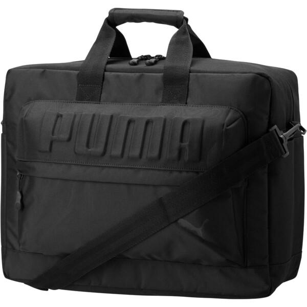 DOCUMENT MESSENGER BAG, BLACK, large