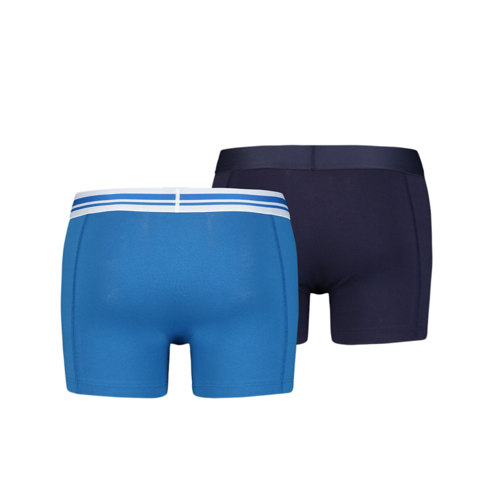 PUMA - male - Мужское нижнее белье Placed Logo Boxer Shorts 2 Pack – blue – XL