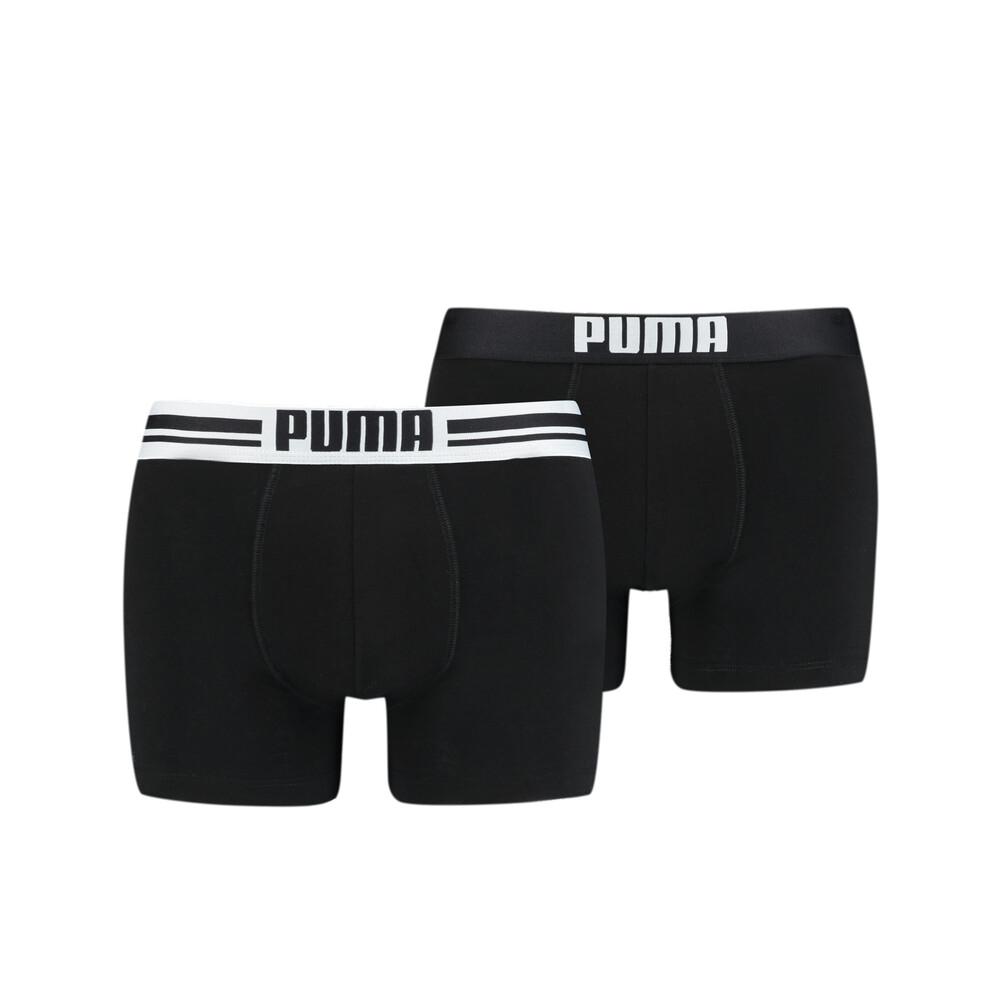 Зображення Puma Чоловіча спідня білизна Placed Logo Boxer Shorts 2 Pack #1