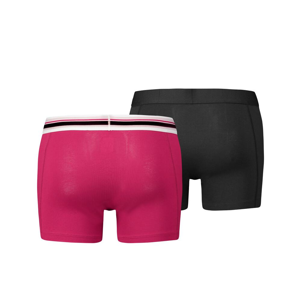 Зображення Puma Чоловіча спідня білизна Placed Logo Boxer Shorts 2 Pack #2