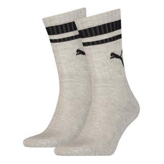 Зображення Puma Шкарпетки PUMA CREW HERITAGE STRIPE 2P