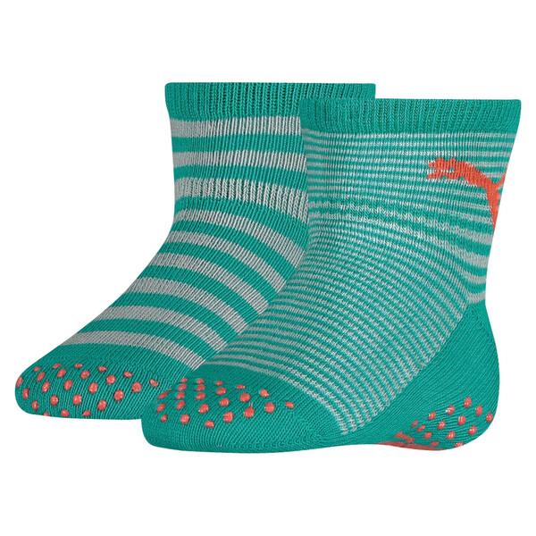Baby Anti-Slip Socks 2 Pack, navigate / peacoat, large
