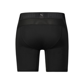 Thumbnail 2 of Active Men's Long Boxer Shorts, black, medium