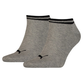 Thumbnail 1 of Heritage Trainer Socks 2 Pack, grey, medium