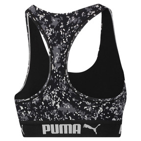 Thumbnail 2 of Speckle Camo Damen Racerback BH-Top, black / white, medium