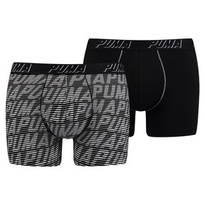 Optical Logo All-Over Printed Men's Boxer Shorts 2 Pack