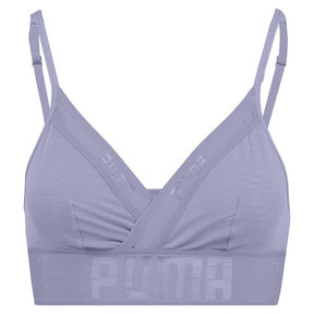 Thumbnail 3 of Sheer Mesh Women's Bralette, pastel lavender, medium