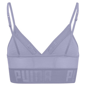 Thumbnail 4 of Sheer Mesh Women's Bralette, pastel lavender, medium