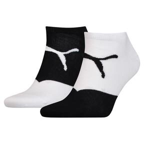 Thumbnail 1 of Men's Trainer Socks 2 Pack, white / black, medium