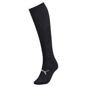 Thumbnail 1 van Kniehoge sokken met lurex voor vrouwen, zwart / zilverkleurig, medium