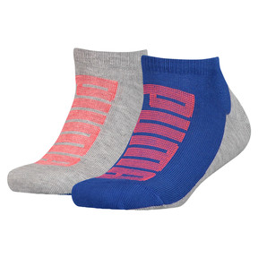 Logo Boys' Trainer Socks 2 Pack