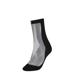 Thumbnail 1 of PUMA x SG Transparent Front Crew Socks (1 Pack), black, medium