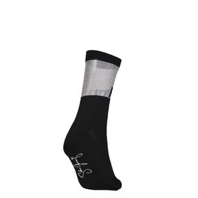 Thumbnail 2 of PUMA x SG Transparent Top Crew Socks (1 Pair), black, medium