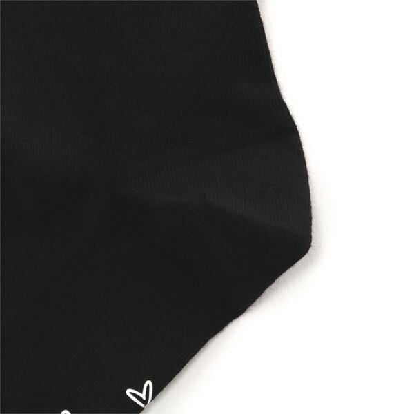 SG トランスパランシートップソックス 1P, black, large-JPN