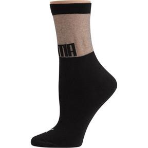 Thumbnail 1 of SG x PUMA Transparent Top Crew Socks [1 Pair], black, medium