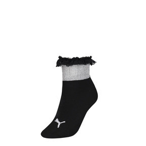 Thumbnail 1 of PUMA x SG Ruffle Short Crew Socks, black, medium