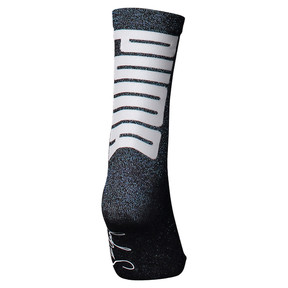 Thumbnail 2 of PUMA x SELENA GOMEZ Shimmer Women's Socks, black, medium