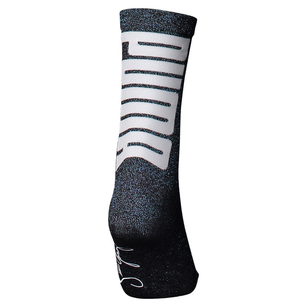 PUMA x SELENA GOMEZ Shimmer Women's Socks, black, large