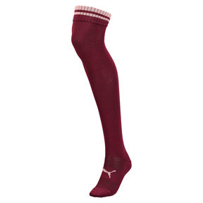 Thumbnail 1 of PUMA x SELENA GOMEZ Over-Knee Women's Socks, winetasting, medium