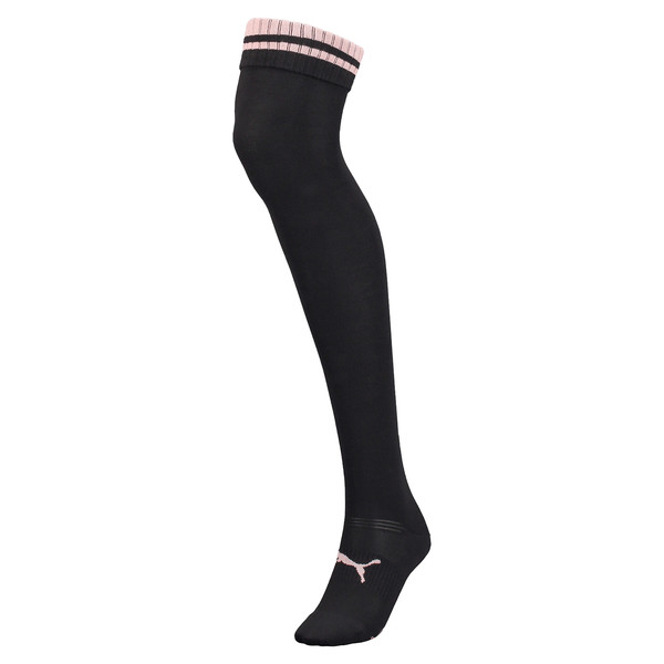 PUMA x SELENA GOMEZ Over-Knee Women's Socks, black, large