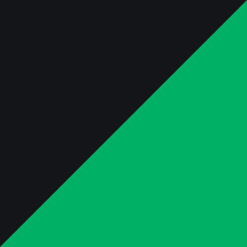 green / black