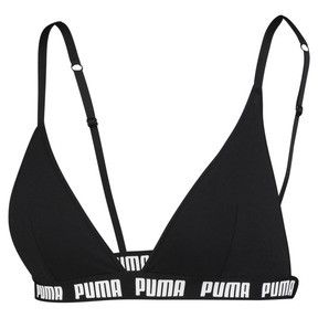 Thumbnail 1 of Triangle Women's Bralette, black, medium