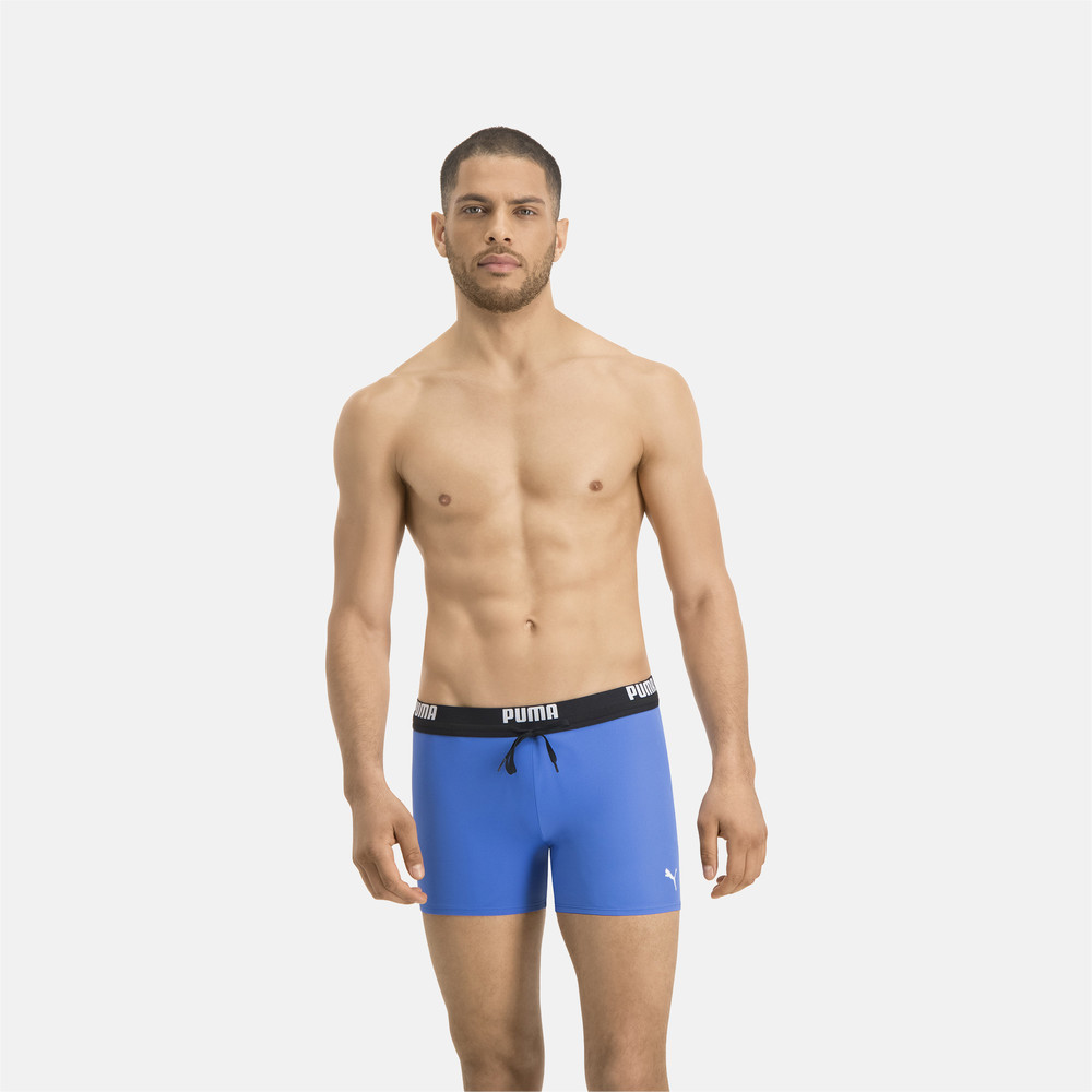 Зображення Puma Плавки PUMA Swim Men Logo Swim Trunks #1