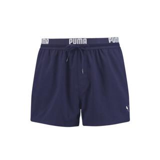 Зображення Puma Шорти для плавання PUMA Swim Men Logo Short Length Swim Shorts