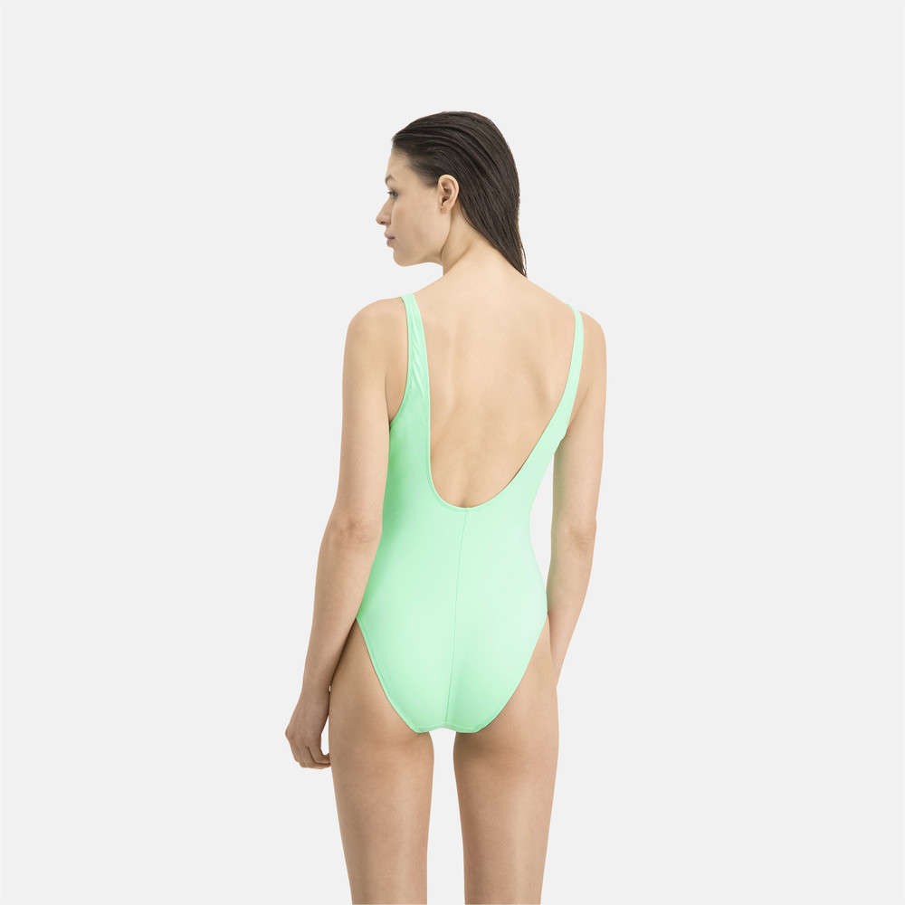 Купить Тренинг, PUMA - female - Купальник PUMA Swim Women Swimsuit 1P – mint – XL