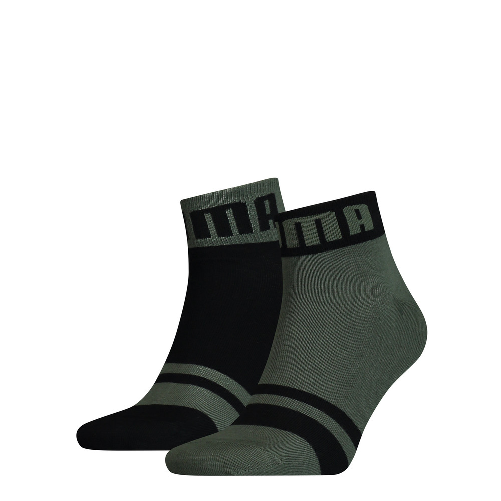 Изображение Puma Носки Seasonal Logo Men's Quarter Socks 2 Pack #1