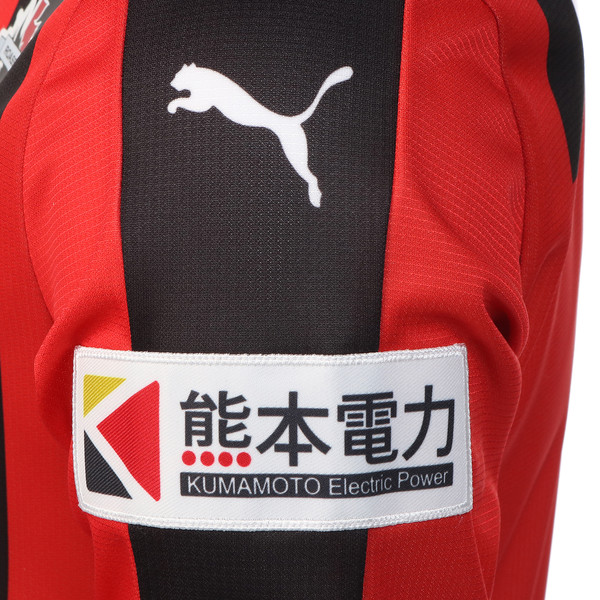 ロアッソ レプリカ ホーム SSシャツ, puma red, large-JPN