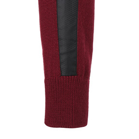 Thumbnail 4 of ゴルフ TB FZ ウィンド ブロック セーター, Pomegranate/Puma Black, medium-JPN