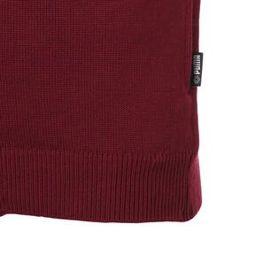 Thumbnail 5 of ゴルフ TB FZ ウィンド ブロック セーター, Pomegranate/Puma Black, medium-JPN