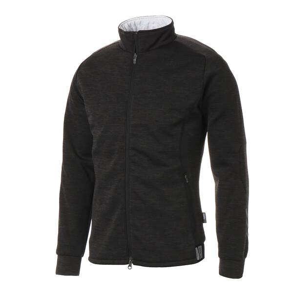 ゴルフ ビルドイン パデッドジャケット, Puma Black Heather, large-JPN