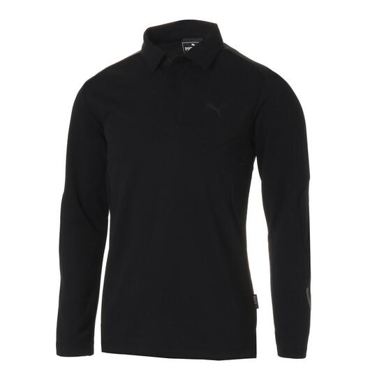 ゴルフ ZIP ポケット LS ポロシャツ
