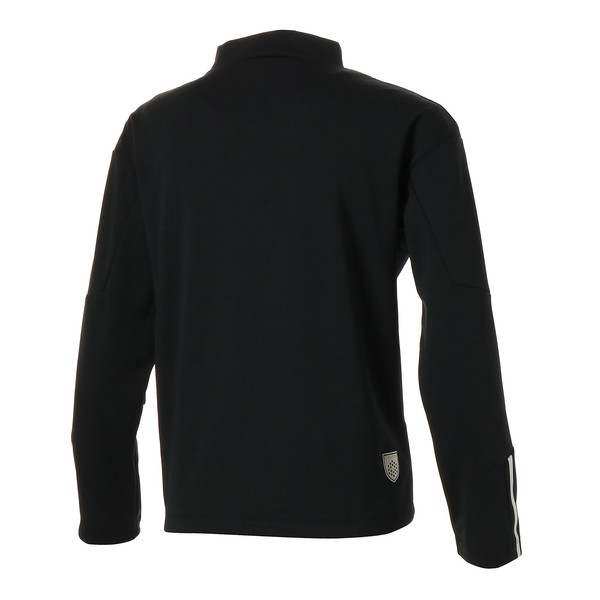 ゴルフ ウィメンズ LS モックネックシャツ, Puma Black, large-JPN