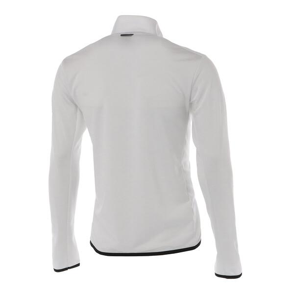 ゴルフ ヘリテージ ニット ブルゾン, Bright White, large-JPN
