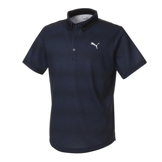 ゴルフ グラデーション コア SSポロシャツ