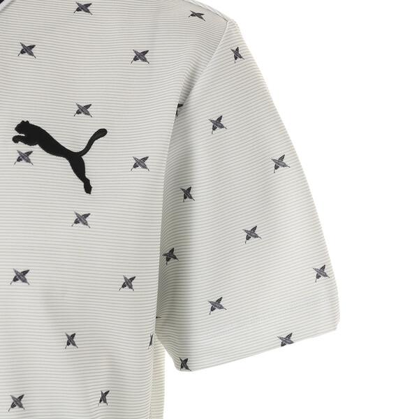 ゴルフ フェザーフュージョン SSポロシャツ (半袖), Bright White, large-JPN