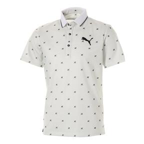 Thumbnail 1 of ゴルフ フェザーフュージョン SSポロシャツ (半袖), Bright White, medium-JPN