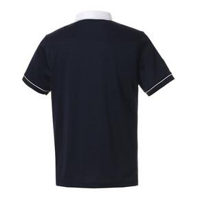 Thumbnail 2 of ゴルフ クレリック カラー SSポロシャツ (半袖), Peacoat, medium-JPN