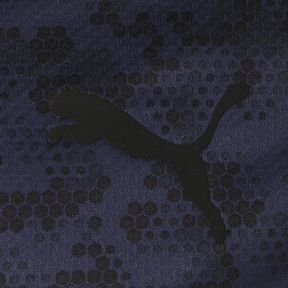 Thumbnail 3 of ゴルフ ハニカム カモ コア SSポロシャツ (半袖), Peacoat, medium-JPN