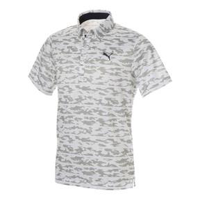 ゴルフ ボーダーカモ SSポロシャツ